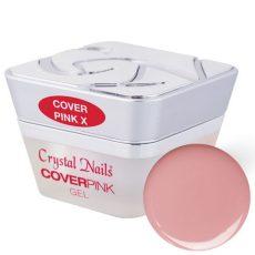 Cover Pink X körömágyhosszabító zselé - rózsaszínebb bőrtónushoz - 5 ml