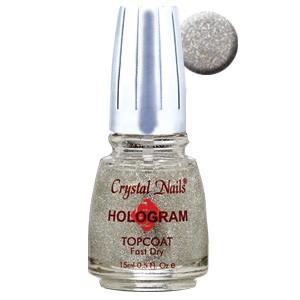 Hologram Topcoat - Hologramos fedőlakk - Ezüst - 15 ml
