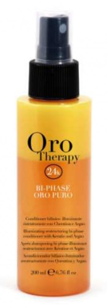 Fanola Oro Therapy Kétfázisú Helyreállító Kondicionáló 200 ml
