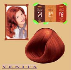 Henna Color hajfesték 10 Gránát vörös 75 ml
