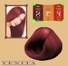 Henna Color hajfesték 11 Burgundi vörös 75 ml
