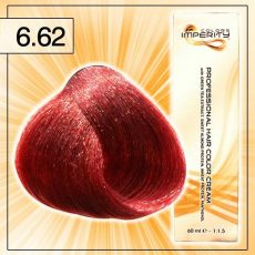 Singularity hajfesték - 6.62 Sötét lilás vörös szőke 100 ml