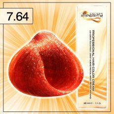 Singularity hajfesték - 7.64 Vörös réz szőke 100 ml