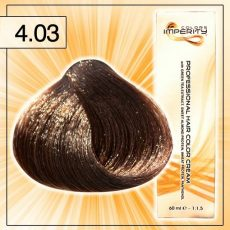 Singularity hajfesték - 4.03 Meleg barna 100 ml