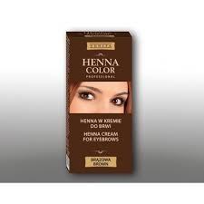 Henna Color szemöldökkrém Barna - 15 g