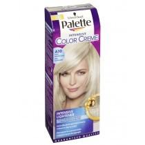 Schwarzkopf Palette Intensive Color Cream hajfesték Ultra Hamvasszőke A10