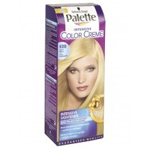 Schwarzkopf Palette Intensive Color Cream hajfesték Ultra Világosszőke E20