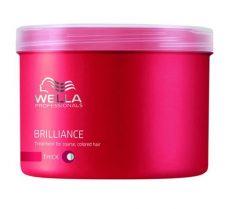 Wella Brilliance hajpakolás vastag szálú hajra 500 ml